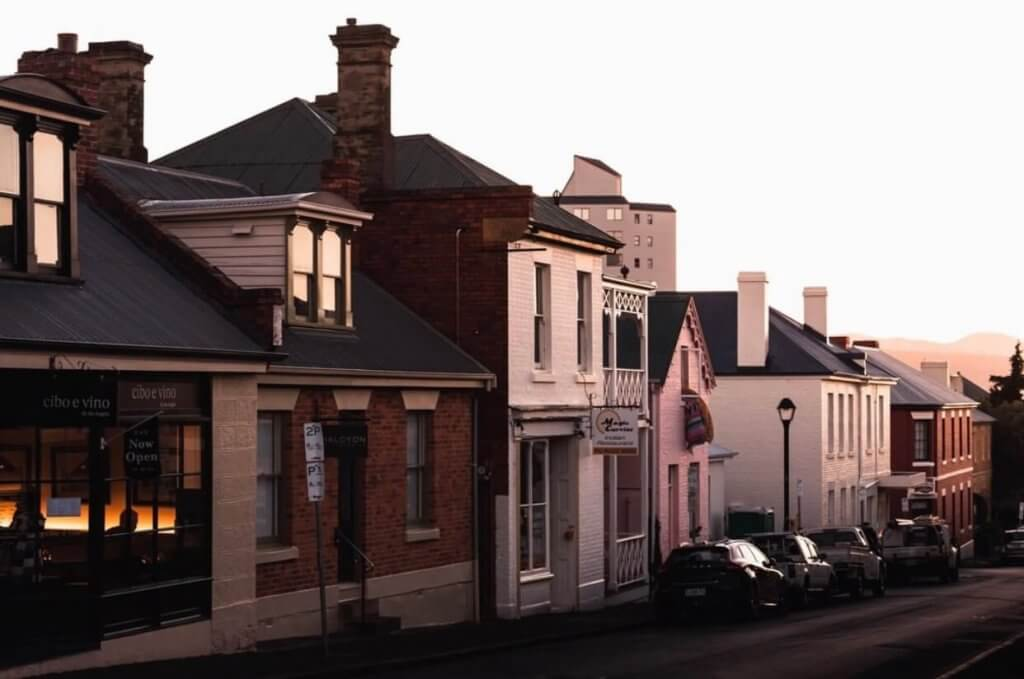 Hobart Buyers Agents - Full Service End to End Representation Image - Row of Houses Mansions